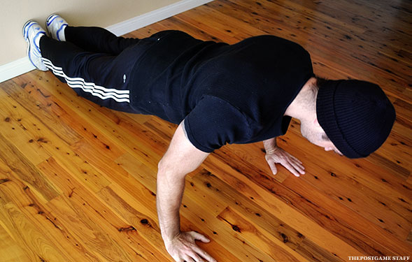correct form for pushups