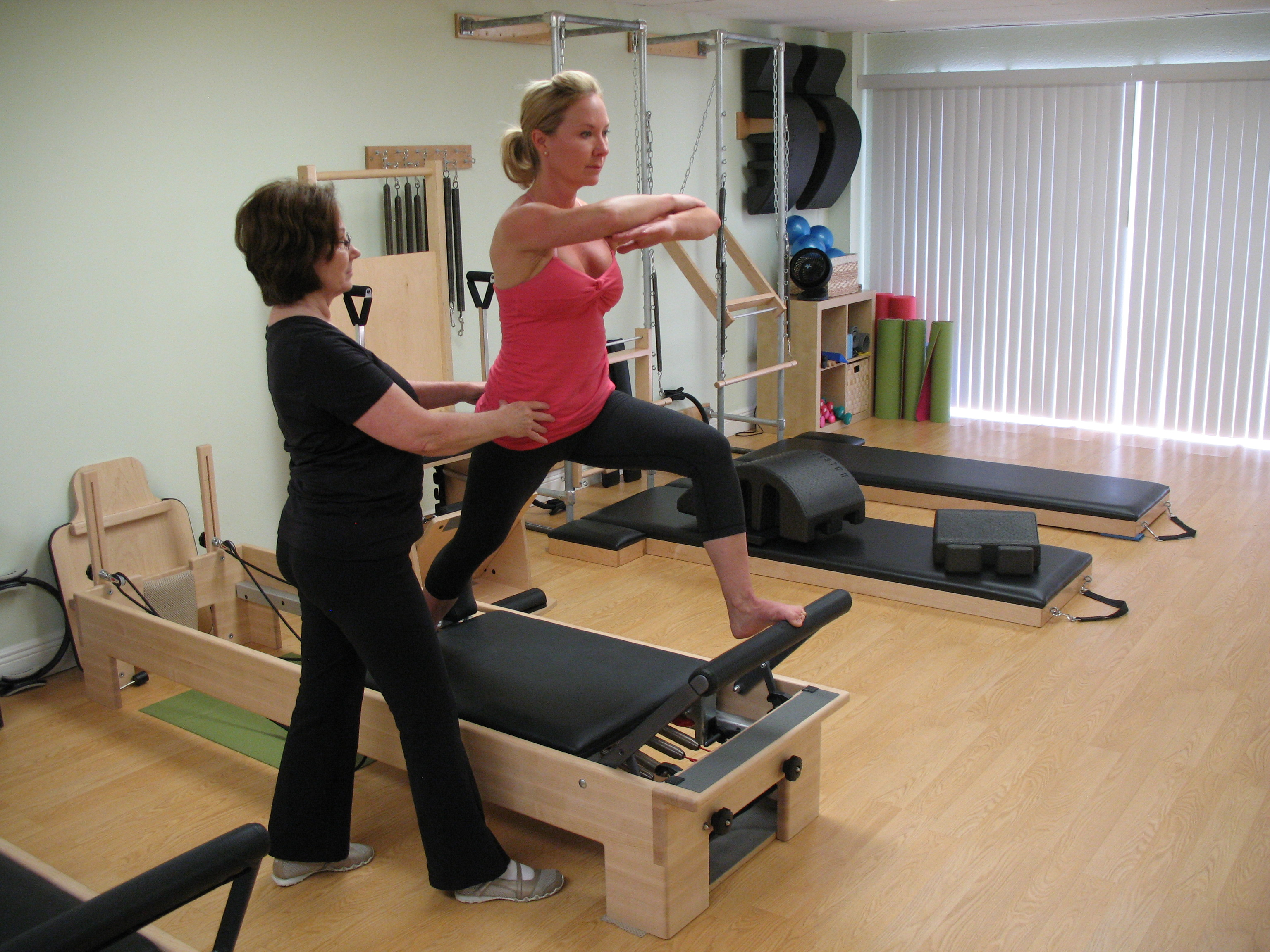 Your Pilates Lifestyle reformer training