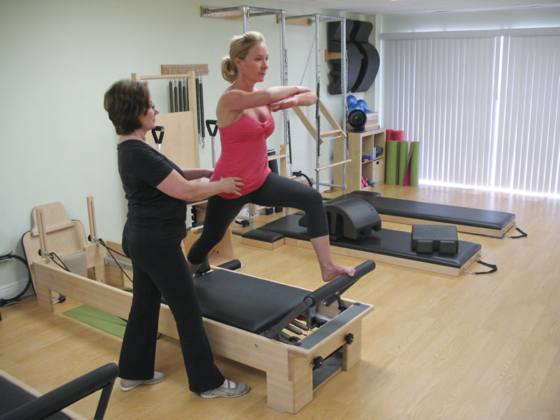 My clients receive Classical Pilates training for maximum fitness benefits