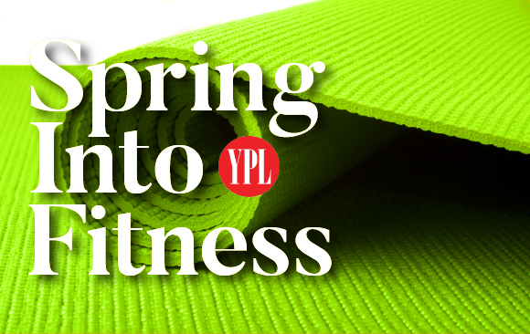 springtime means no more slackers, time to get fit